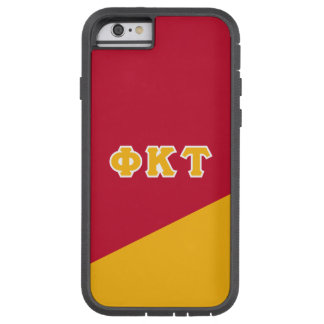 Lettres de Grec de Tau | de Kappa de phi Coque Tough Xtreme iPhone 6