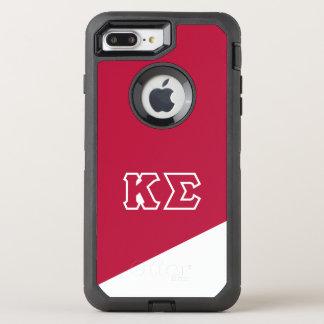 Lettres de Grec du sigma | de Kappa Coque Otterbox Defender Pour iPhone 7 Plus