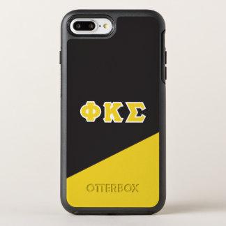Lettres de Grec du sigma | de Kappa de phi Coque OtterBox Symmetry iPhone 8 Plus/7 Plus