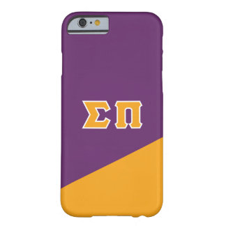 Lettres de Grec du sigma pi | Coque iPhone 6 Barely There