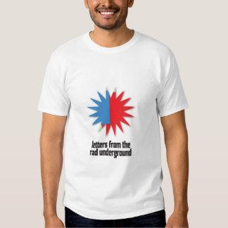 Lettres de rad t-shirt