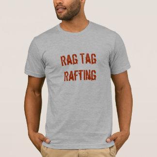 Lettres d'orange du T-shirt W de R-T-R