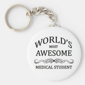 L'étudiant en médecine le plus impressionnant du m porte-clé rond