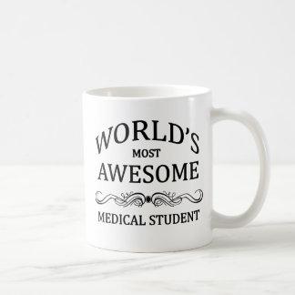 L'étudiant en médecine le plus impressionnant du mug blanc