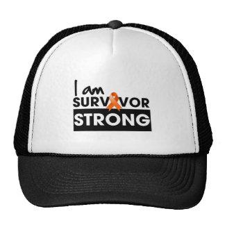 Leucémie je suis survivant fort casquette de camionneur