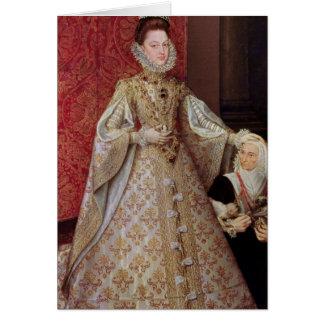 L'Eugenia Isabel Clara d'Infanta avec Cartes