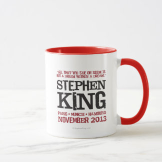 L'euro visite de Stephen King Tasse