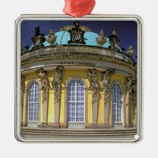 L'Europe, Allemagne, Potsdam. Parc Sanssouci, 2 Ornement Carré Argenté