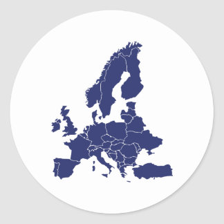 L'Europe Adhésifs Ronds
