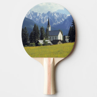 L'Europe, Autriche, Gosau. La flèche de l'église Raquette Tennis De Table