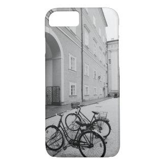 L'Europe, Autriche, Salzbourg. Bicyclettes dans Coque iPhone 7