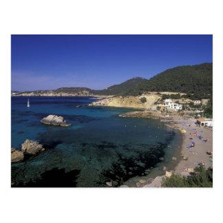 L'Europe, Espagne, Balearics, Ibiza, Cala De Cartes Postales