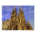 L'Europe, Espagne, Barcelone, Sagrada Familia Cartes Postales
