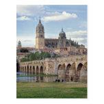 L'Europe, Espagne, Salamanque. Le pont romain plus Cartes Postales