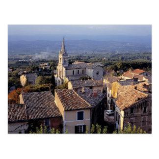 L'Europe, France, Bonnieux. Chutes de lumière de Cartes Postales