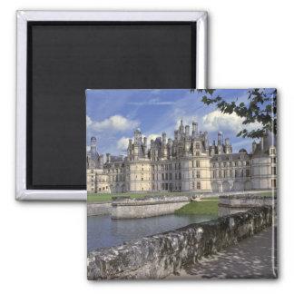 L'Europe, France, Chambord. Château imposant Magnet Carré