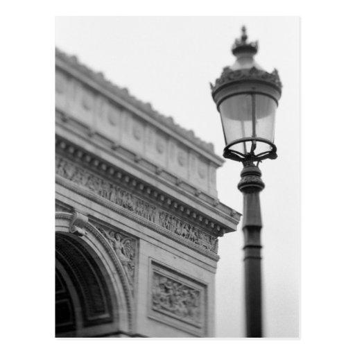 L'Europe, France, Paris. Arc de Triomphe et Carte Postale