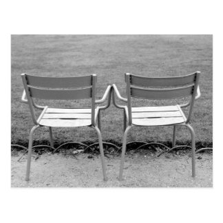 L'Europe, France, Paris. Chaises, Jardin du 2 Carte Postale