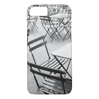 L'Europe, France, Paris. Chaises, Jardin du 3 Coque iPhone 7