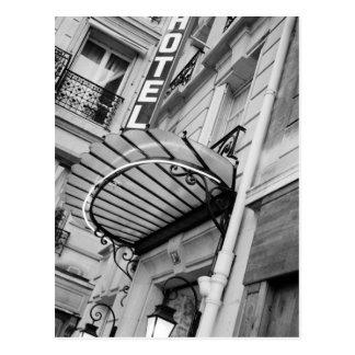 L'Europe, France, Paris. Détail d'hôtel de banque Carte Postale