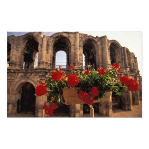 L'Europe, France, Provence, Arles, Bouches, du, Tirage Photo