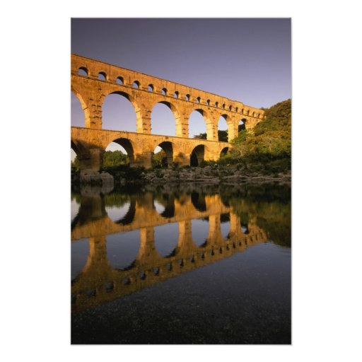 L'Europe, France, Provence, le Gard. Pont du le Ga Photographes