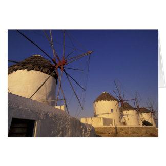 L'Europe, Grèce, îles de Cyclades, Mykonos, 2 Carte De Vœux