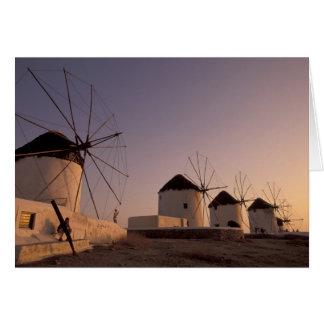 L'Europe, Grèce, îles de Cyclades, Mykonos, Carte De Vœux