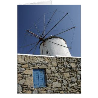 L'Europe, Grèce, Mykonos. 2 Carte De Vœux