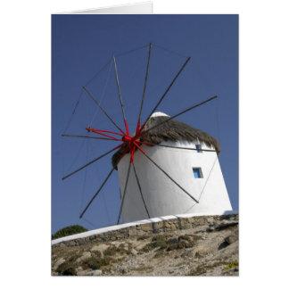 L'Europe, Grèce, Mykonos. 3 Carte De Vœux