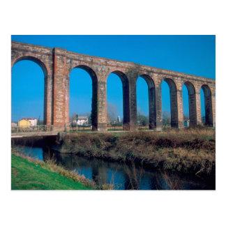 L'Europe, Italie. Aquaduct près de Lucques Carte Postale