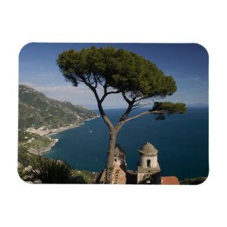 L'Europe, Italie, Campanie, (côte d'Amalfi), 2 Magnets En Rectangle