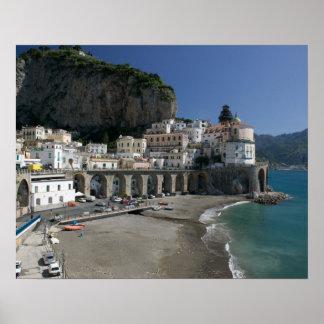 L'Europe, Italie, Campanie, (côte d'Amalfi), Amalf Posters