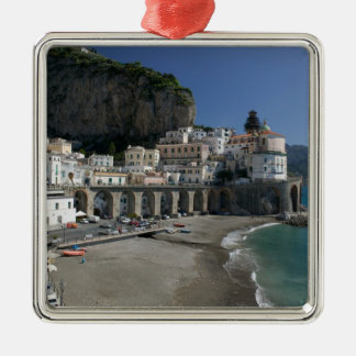 L'Europe, Italie, Campanie, (côte d'Amalfi), Ornement Carré Argenté