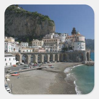 L'Europe, Italie, Campanie, (côte d'Amalfi), Sticker Carré