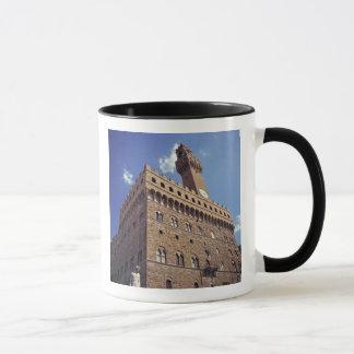 L'Europe, Italie, Florence. Le Plazzo médiéval Mug