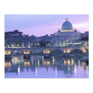L'Europe, Italie, Rome, Vatican. St Peter et Carte Postale