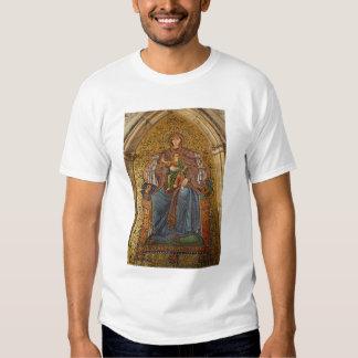 L'Europe, Italie, Sicile, Taormina. Madonna et T-shirts