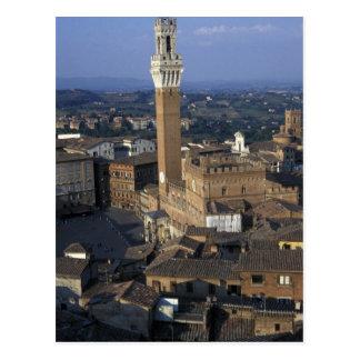 L'Europe, Italie, Sienne. Aperçu de ville Carte Postale