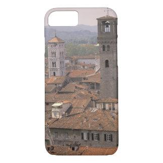 L'Europe, Italie, Toscane, Lucques, panorama de Coque iPhone 7