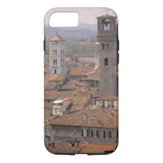 L'Europe, Italie, Toscane, Lucques, panorama de Coque iPhone 7