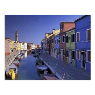 L'Europe, Italie, Venise, île de Murano, colorée Cartes Postales