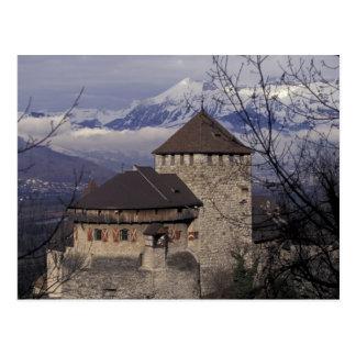 L'Europe, Liechtenstein, Vaduz. Château de Vaduz, Carte Postale
