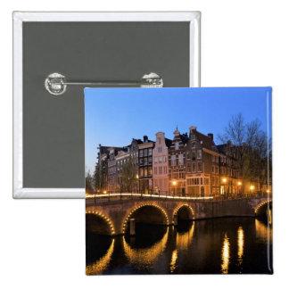 L'Europe, Pays-Bas, Hollande, Amsterdam, Badges
