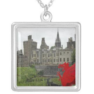 L'Europe, Pays de Galles, Cardiff. Château de Pendentif Carré
