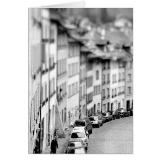 L'Europe, Suisse, Berne. Vieux bâtiments de ville Cartes De Vœux
