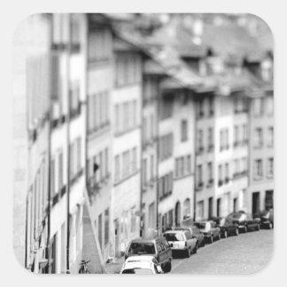 L'Europe, Suisse, Berne. Vieux bâtiments de ville Sticker Carré