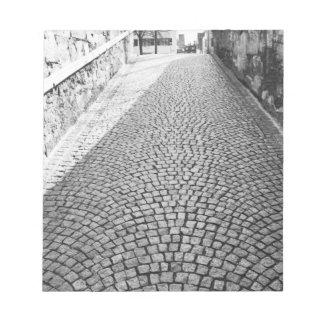 L'Europe, Suisse, Zurich. Rue pavée en cailloutis, Blocs-notes