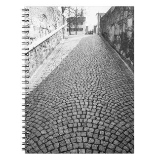 L'Europe, Suisse, Zurich. Rue pavée en cailloutis, Carnet