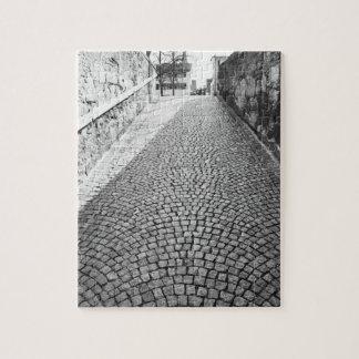 L'Europe, Suisse, Zurich. Rue pavée en cailloutis, Puzzle